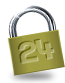 24 Security Padlock